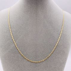 18k Tricolor Gold Necklace