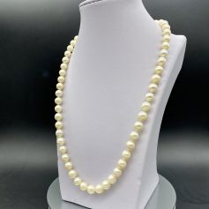 18k Gold Necklace with Freshwater Pearls